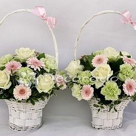 Delikatne pastelowe kwiaty