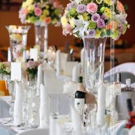 Hotel Atut Kolorowa dekoracja ślubna