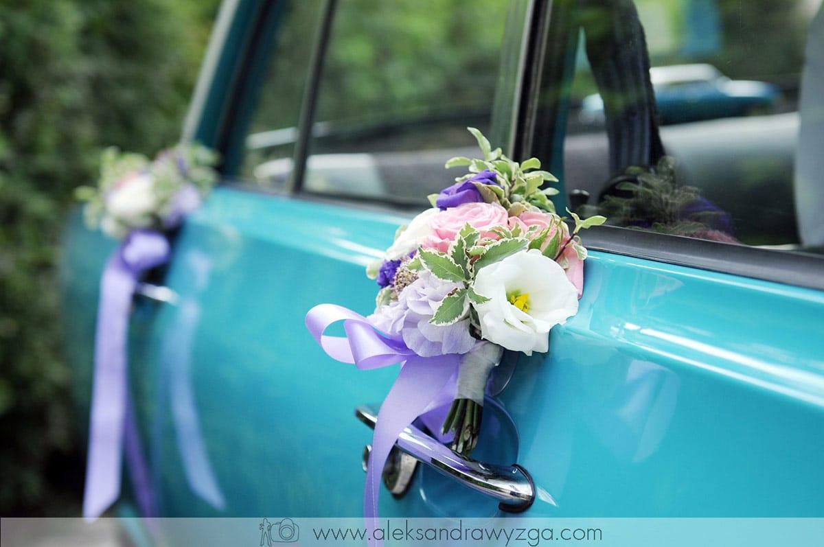 Dekoracja Samochodu Kwiatami Do ślubu Decoradopl