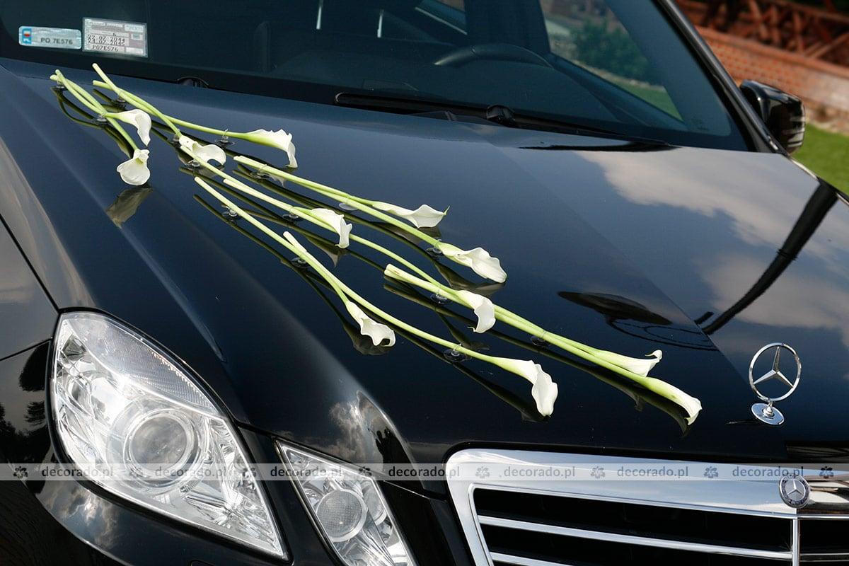 Modish Dekoracja samochodu kwiatami do ślubu - Decorado.pl FS71