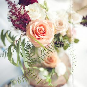 Bukiety kwiatów w stylu vintage -Pałac Wąsowo