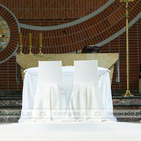 Dekoracja ślubna Kościoła św. Józefa w Szczepankowie