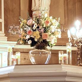 Dekoracja ślubna w Kaplicy w Wąsowie
