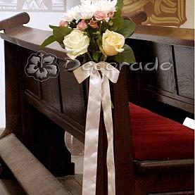 Dekoracja ślubna Kościół w Złotowie