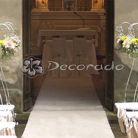 Kaplica w Wąsowie – dekoracja ślubna