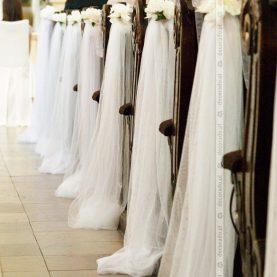 Biały wystrój Kościoła w Rydzynie