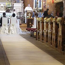 Dekoracja kościoła w Bukowcu