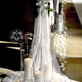 Dekoracja ślubna Kościoła w Biechowie