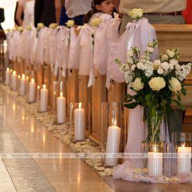 Dekoracja Kościoła Chrystusa Jedynego Zbawiciela w Swarzędzu
