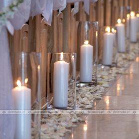 Elegancki ślub w blasku świec – Kościół w Swarzędzu