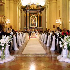 Dekoracja Kościoła OO. Karmelitów