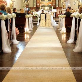 Romantyczny wystrój Kościoła św. Małgorzaty