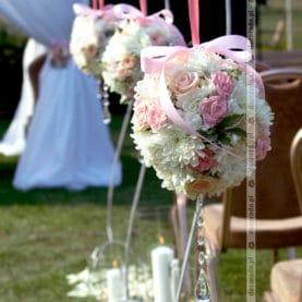 Kwiatowa dekoracja ceremonii ślubnej – Solei