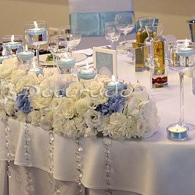 Dekoracja stołu prezydialnego – Remes