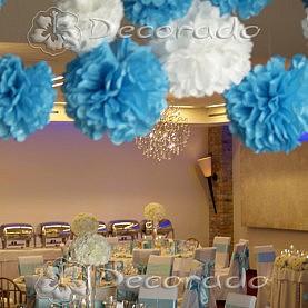 Hotel Remes – dekoracja w kolorze Tiffany Blue