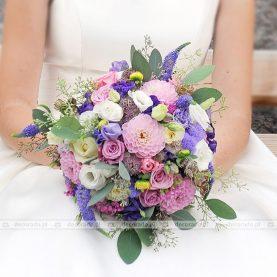 Wiązanka polnych kwiatów do ślubu