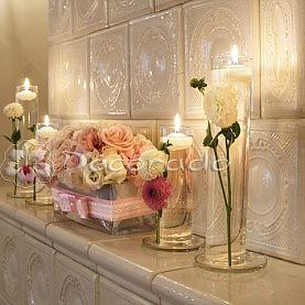 Dekoracja kominka – dekoracja sali tanecznej w Pałacu Biedrusko