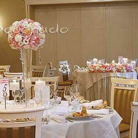 Romantyczne pastele w dekoracji ślubnej – Pałac Biedrusko