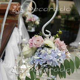 Dekoracja ceremonii ślubnej w Villa Natura w Dolsku