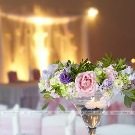 Delikatne wianki – dekoracja ślubna  – Dworek Fantazja