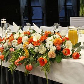 Kompozycja na stole prezydialnym – Barczyzna