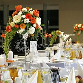 Dekoracja sali weselnej – Hotel Barczyzna