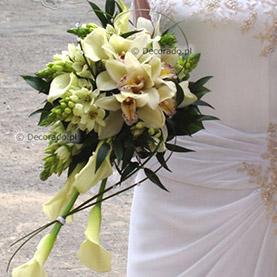 Nietypowa wiązanka ślubna