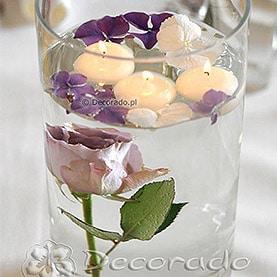 Kwiaty, woda, szkło i świece – Pałac w Rydzynie