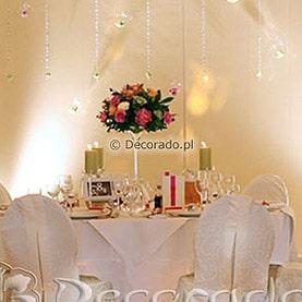 Oświetlenie tworzy atmosferę – Pałac w Wąsowie – namiot
