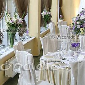 Eleganckie bukiety fioletowy kwiatów – Lake Hotel