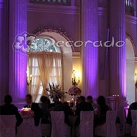 Scenografia świetlna – oświetlenie sali balowej Pałacu w Rydzynie