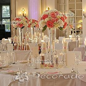 Piękne kompozycje w blasku świec – sala balowa Pałacu w Rydzynie