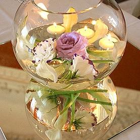 Lustra, świece, szkło, kwiaty – Pałac w Rydzynie
