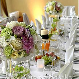 Fiolet, pistacja, biel – dekoracja w Lake Hotelu