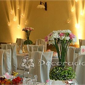 Eleganckie pokrowce na krzesła – Hotel Dorian
