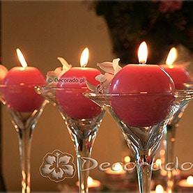 Storczyki w blasku świec – Hotel Dorian