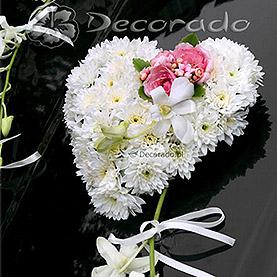 Romantyczna dekoracja ślubna