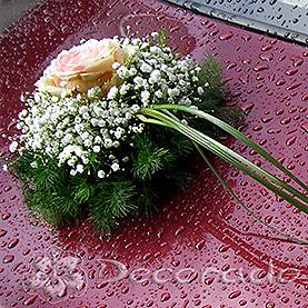 Delikatna kwiatowa dekoracja
