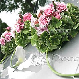 Zieleń i róż w towarzystwie bieli