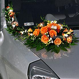 """Dekoracja samochodu """"Jesienne kolory"""""""