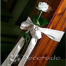 Dekoracja ślubna kościoła w Swarzędzu
