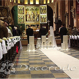 Elegancka dekoracja Katedry Poznańskiej