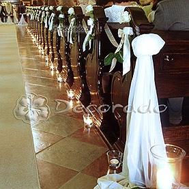 Prosta dekoracja w bieli – kościół pw. Św. Józefa, Klasztor Karmelitów Bosych