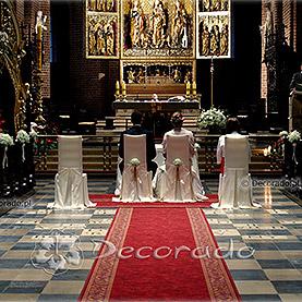 Delikatna dekoracja Katedry Poznańskiej – gipsówka