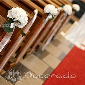 Prostota kwiatów hortensji – Kościół OO. Dominikanów
