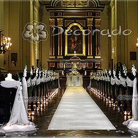 Elegancka gladiola – kościół Św. Józefa Klasztor Karmelitów Bosych