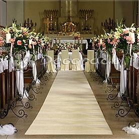 Kościół Zmartwychwstania Pańskiego – kwiatowa aleja