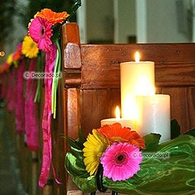 Dekoracja Kościoła w Dąbrówce Kościelnej – Kolory