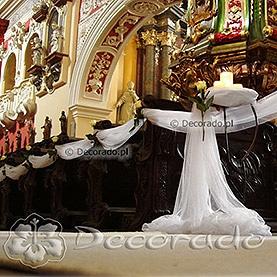 Wystrój ślubny kościoła Św. Antoniego