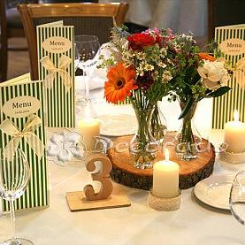 Dekoracja ślubna w stylu vintage – Hotel Habenda